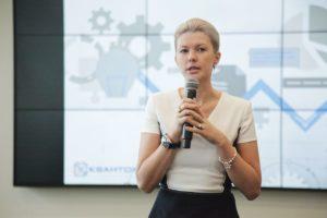 Выступление Марины Раковой на образовательной сессии для наставников детских технопарков